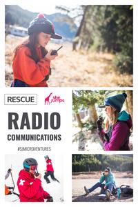 rescue radio communications Pinterest image