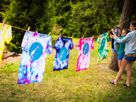 SheJumps DIY Summer Camp: Customize Tie-Dye Shirts and Crafts