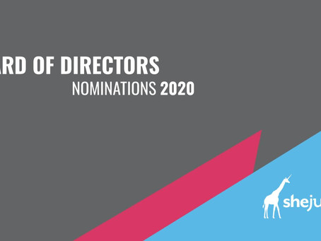 Open Nominations – Join SheJumps Board of Directors