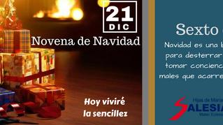 Novena de Navidad, Sexto día