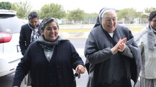 Visita Madre Yvonne Reynosa