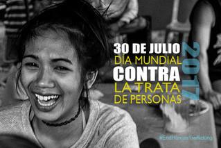 30-Julio Día mundial contra la trata de personas