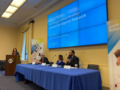 Congressional briefing on artificial intellegence
