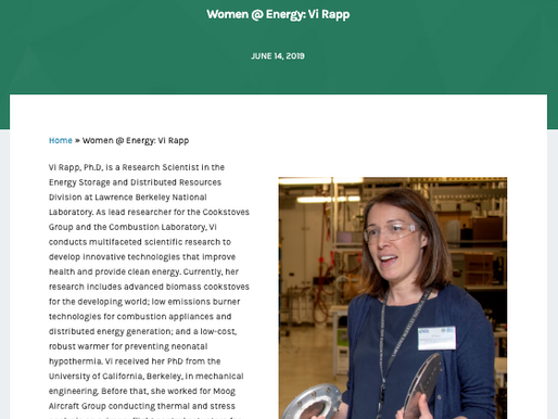 Department of Energy's Women@Energy
