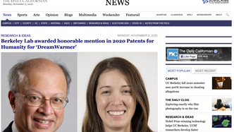 Infant Warmer featured in Daily Californian