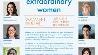 2018 Women @ The Lab Award