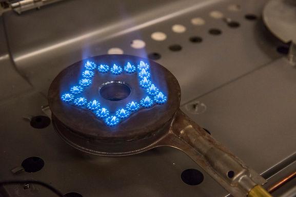 Low-emission Burner for Residential Appliances