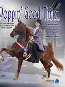 Poppin' Good Time and Gracie Ledet Saddle Horse Report Online Ad