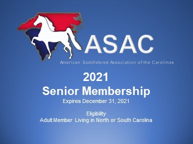 2021 ASAC Senior Membership