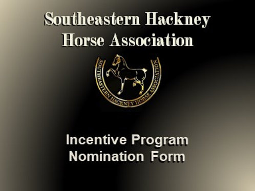 Incentive Program Nomination Form