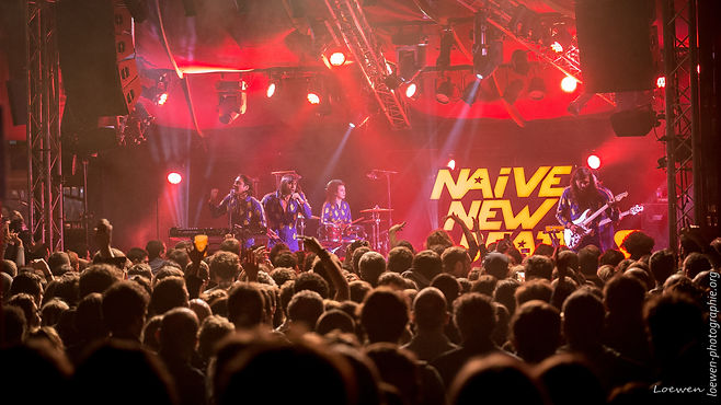Naive New Beaters Mythos 2017-Loewen photographie