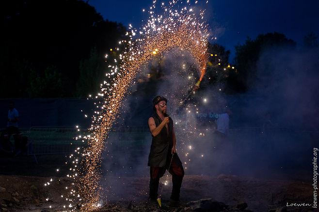 Animations feu festival feu au lac 2017 Loewen photographie