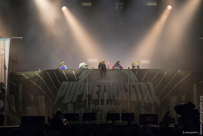 Puppetmastaz-art sonic 2017-Loewen photographie