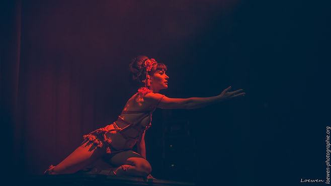 Performeuses burlesques-Grand Soufflet 2017 - Loewen photographie