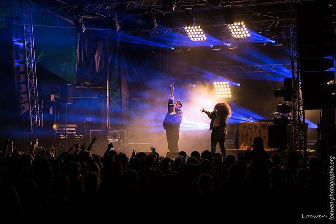 Biga Ranx festival feu au lac 2017 Loewen photographie