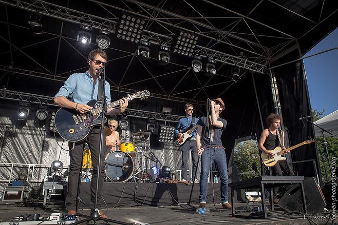 Archimède festival feu au lac 2017 Loewen photographie