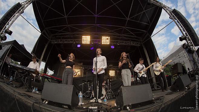 M.A. Suet festival feu au lac 2017 Loewen photographie