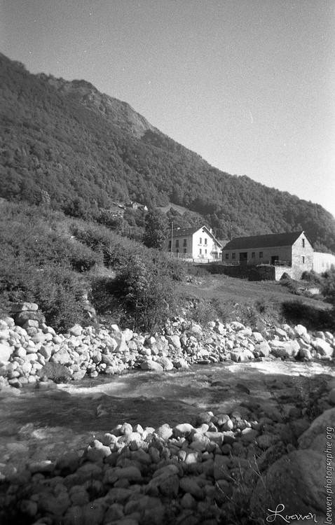 Cauterets, Pyrénées. Hameau
