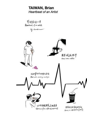 TAIWAN, Brian 林伯諺 - Heartbeat of an Artist