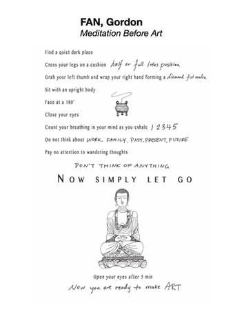 FAN, Gordan - Meditation Before Art