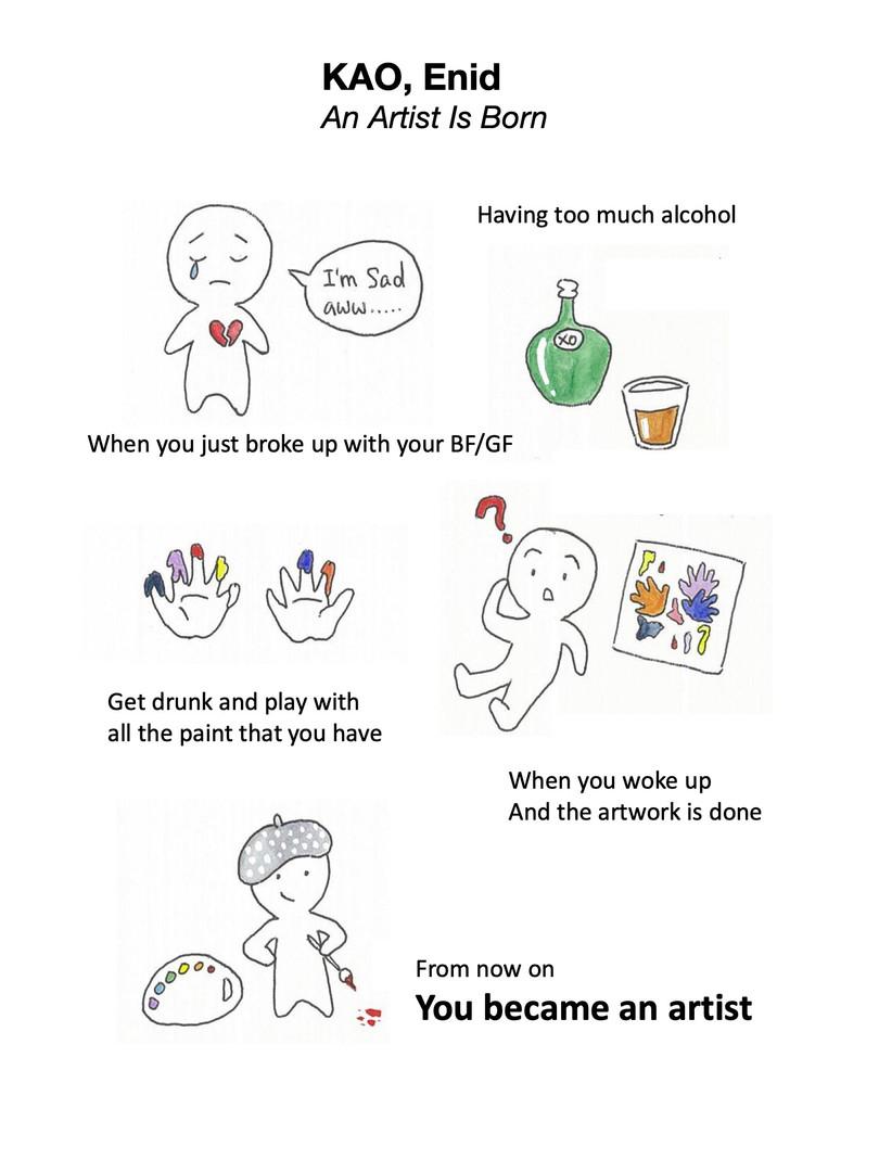 KAO, Enid - An Artist is Born