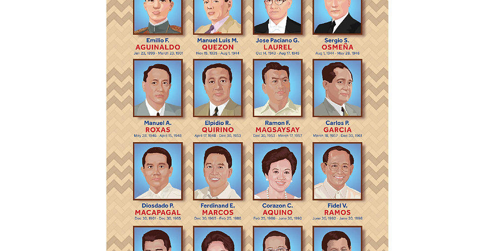 Presidents of the Philippines Poster
