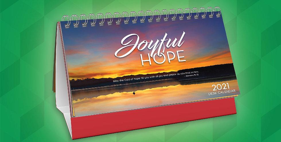 Desk Calendar 2021 Joyful Hope