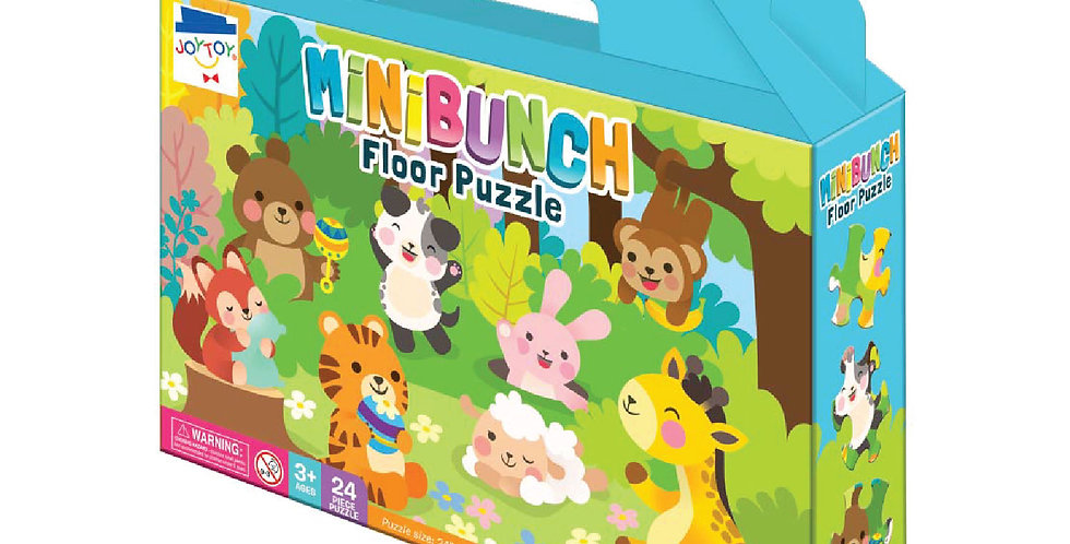 Mini Bunch 24-PC. Floor Puzzle