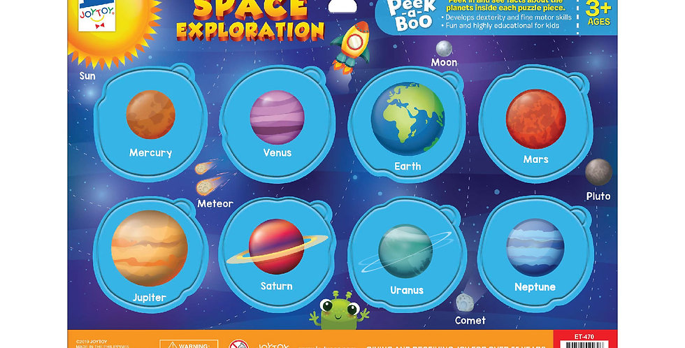 Space Exploration Peek-a-boo Puzzle