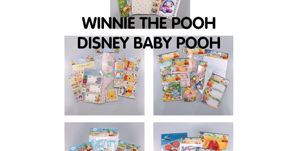 Winnie The Pooh & Disney Baby Pooh JOYTOY Party Goods Set Packs