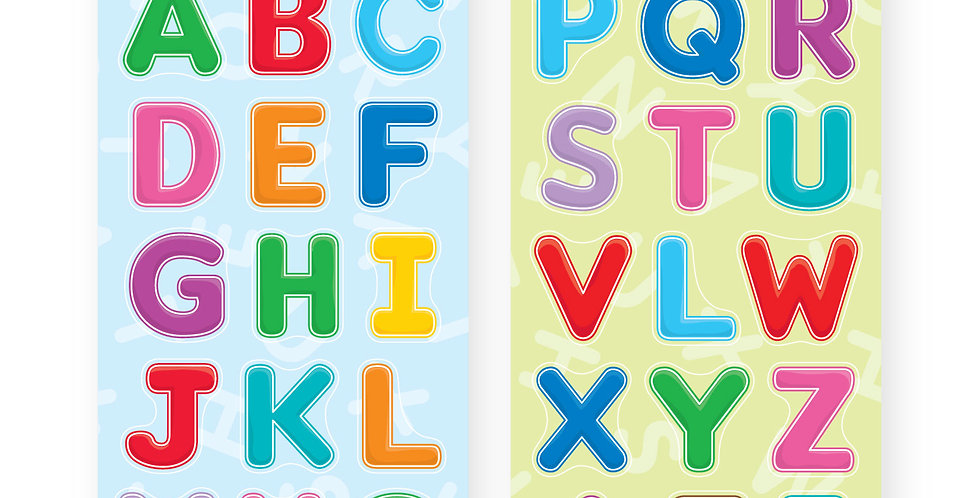 Chipboard Cut-outs (Alphabet)