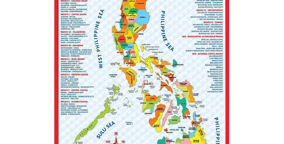 Philippine Map Puzzle