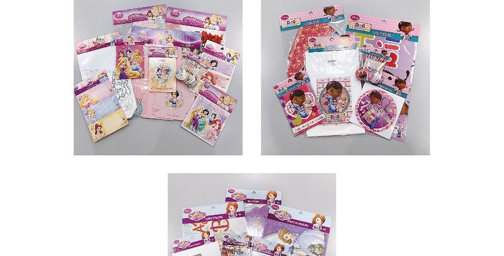 Disney Princess, Doc Mcstuffins & Sofia the First JOYTOY Party Goods Set Packs