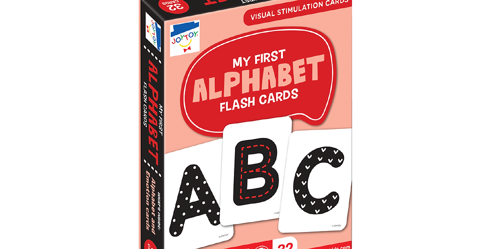 My First Alphabet Flash Cards