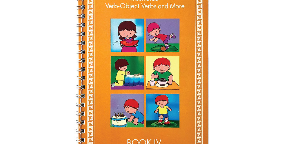Book 4 - illustrated Verbs-Objectverb and More