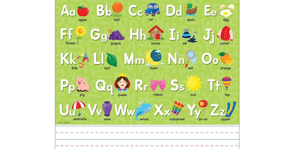 Alphabet Wipe-off Board