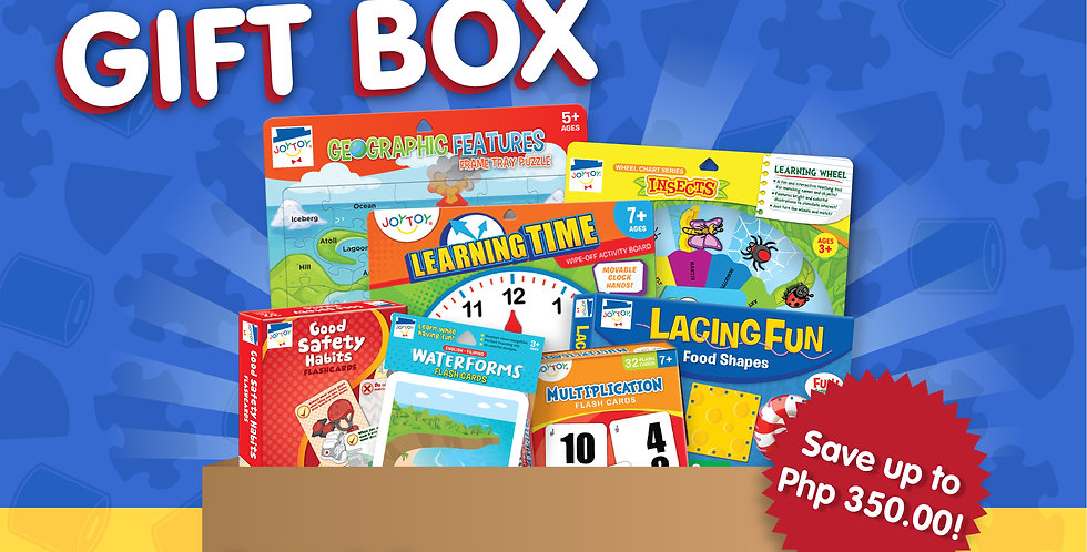 JC Lucas Kids Gift Box (Ages 6 & UP)