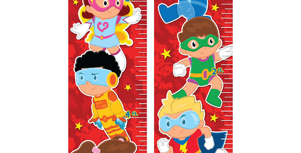 Little Heroes Growth Chart