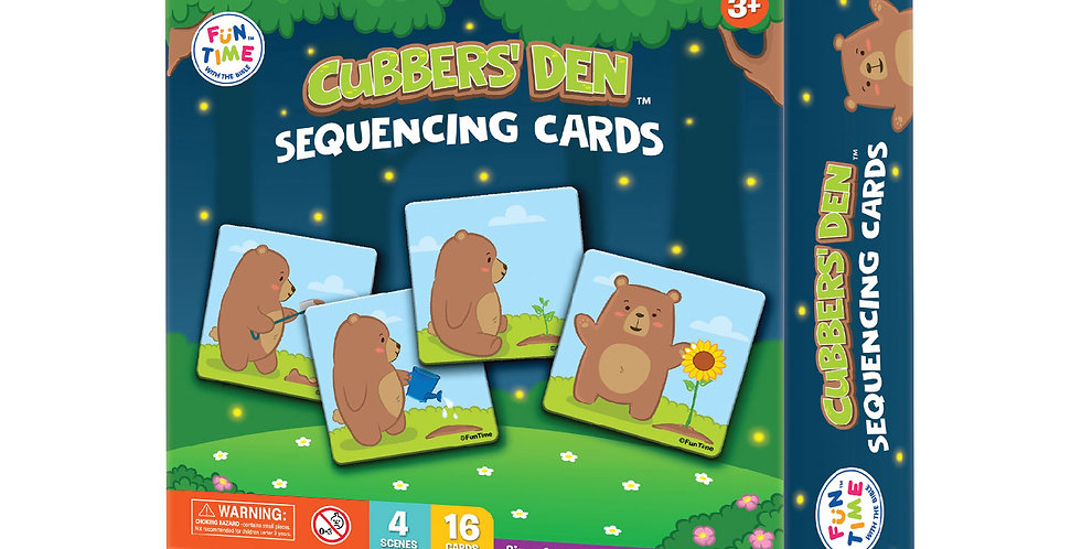 Cubbers Den Sequencing Cards