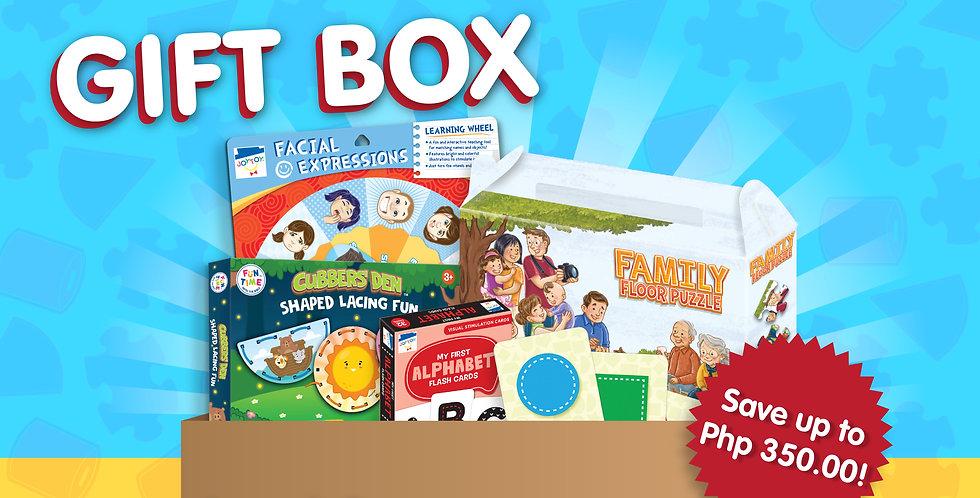 JC Lucas Kids Gift Box (Ages 1-3)