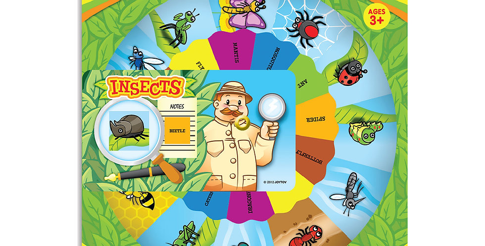 Insects Wheel Chart