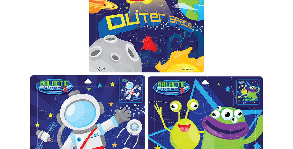 "JOYTOY Galactic 9"" Fun Puzzle"