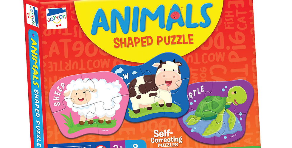 Animals Shaped Puzzles