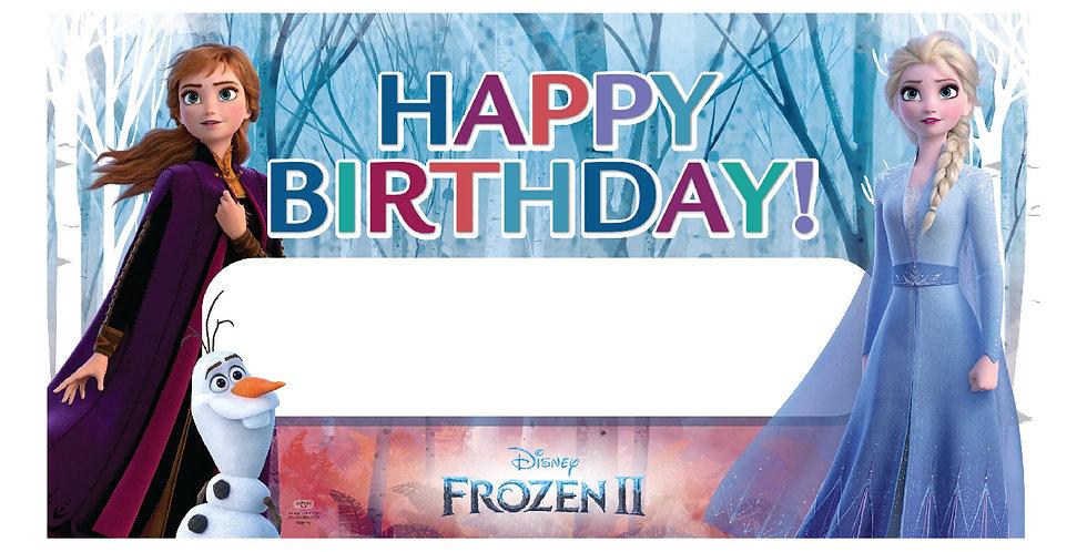 Frozen 2 Party Banner (1 pc.)
