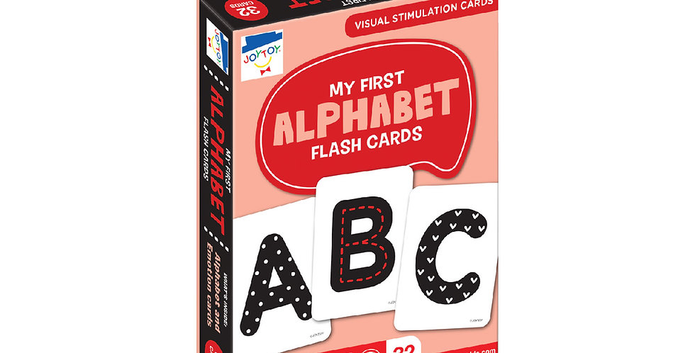 My First Alphabet Flash Cards