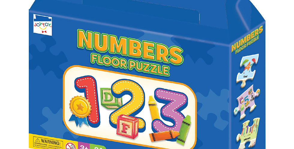 Numbers Floor Puzzle