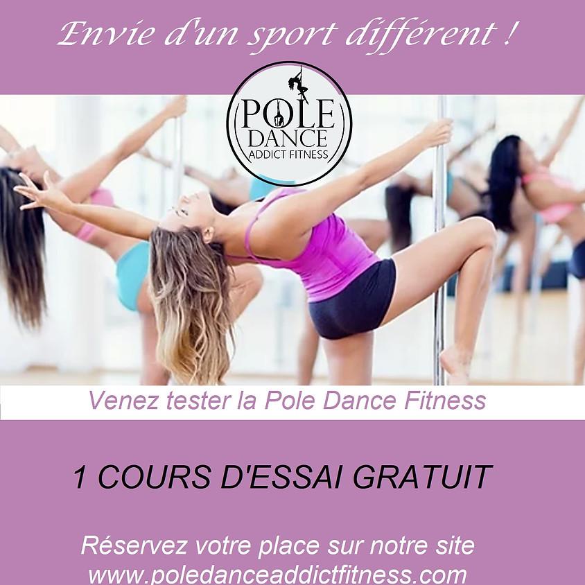POLE DANCE DÉCOUVERTE & INITIATION - 1 Cours d'essai gratuit