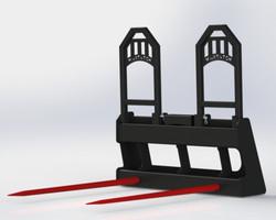 Bale Spear - MBSHC2 w/ Frames