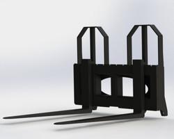 Heavy Duty Pallet Forks - MHDPFC3