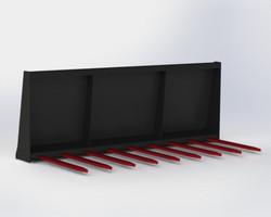 Flat Tine Manure Forks - MMFF-UQA